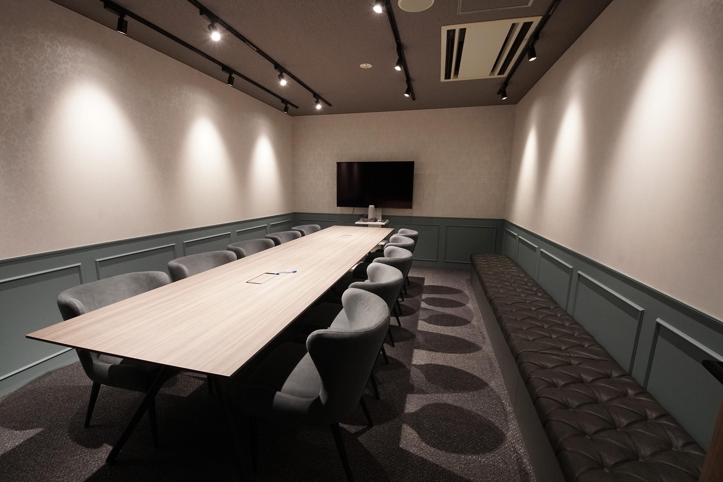 Web会議のしやすい新しい会議室